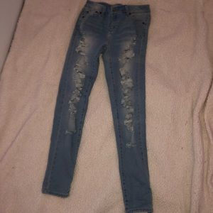 Bluenotes ripped skinny jeans